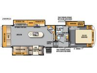 Floorplan - 2017 Forest River RV Wildcat Maxx 295RSX
