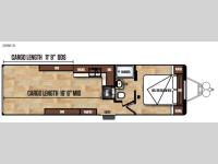 Floorplan - 2017 Forest River RV Work and Play FRP Series 30WCR