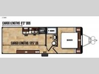 Floorplan - 2017 Forest River RV Work and Play Ultra Lite 25WB LE