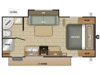 Floorplan - 2017 Starcraft Launch Ultra Lite 21FBS
