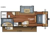 Floorplan - 2017 Jayco Jay Flight SLX 242BHSW