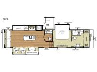 Floorplan - 2017 RiverStone Legacy 38FB