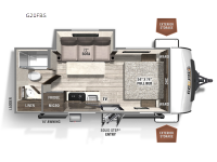 New 2022 Forest River RV Rockwood GEO Pro G20FBS Photo