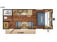 Floorplan - 2017 Jayco Jay Flight SLX 195RB