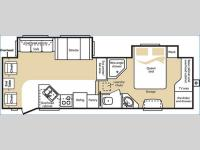 Floorplan - 2006 Keystone RV Cougar 291EFS