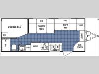 Floorplan - 2008 Dutchmen RV Lite 18F