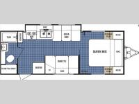 Floorplan - 2008 Dutchmen RV Lite 25C-GS