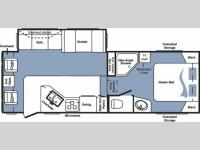 Floorplan - 2008 Keystone RV Cougar 276RLS