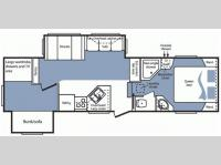 Floorplan - 2008 Keystone RV Cougar 289BHS