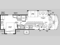 Floorplan - 2004 Winnebago Brave 34 D