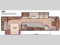 Floorplan - 2008 Fleetwood RV Bounder 35E