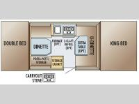 Floorplan - 2005 Jayco Jay Series 1007