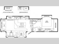 Floorplan - 2007 DRV Luxury Suites Mobile Suites 36 TK3