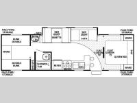 Floorplan - 2008 Forest River RV Cherokee Lite 29B