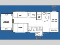 Floorplan - 2008 Keystone RV Outback 21RS