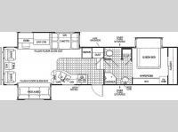 Floorplan - 2004 Pilgrim Open Road 357 RLDS