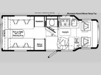 Floorplan - 2004 Winnebago Rialta 22 HD