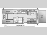 Floorplan - 2004 Jayco Jay Feather EXP 25 G