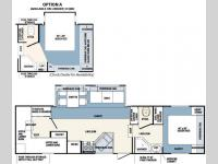 Floorplan - 2007 Forest River RV Wildcat 31QBH