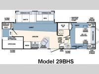 Floorplan - 2007 Forest River RV Wildcat 29BHS