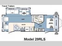 Floorplan - 2007 Forest River RV Wildcat 29RLS
