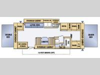 Floorplan - 2005 Jayco Jay Feather EXP 25 E