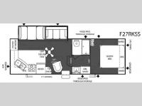 Floorplan - 2007 Forest River RV Salem F27RKSS
