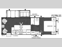 Floorplan - 2007 Forest River RV Salem F27RLSS