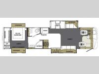 Floorplan - 2008 Forest River RV Berkshire 360QS