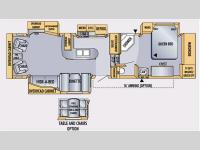 Floorplan - 2008 Jayco Eagle 341 RLQS