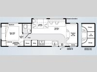 Floorplan - 2008 Itasca Spirit 31C