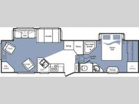 Floorplan - 2007 Keystone RV Cougar 311RLS