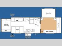 Floorplan - 2008 Keystone RV Outback 27FQBS