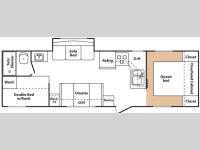 Floorplan - 2008 Keystone RV Summerland 2920BH