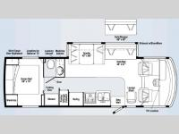 Floorplan - 2008 Winnebago Sightseer 30B
