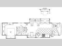 Floorplan - 2008 Damon Tuscany 4076