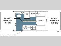 Floorplan - 2008 Dutchmen RV Kodiak 160