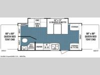 Floorplan - 2008 Dutchmen RV Kodiak 214