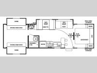 Floorplan - 2008 Forest River RV Cherokee Lite 29B+