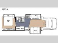 Floorplan - 2008 Coachmen RV Concord 300TS