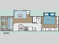 Floorplan - 2008 Gulf Stream RV Kingsport 287 RLS