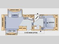 Floorplan - 2008 Jayco Eagle Super Lite 29.5 RLS