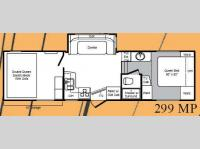 Floorplan - 2008 Keystone RV Raptor 299MP