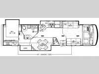 Floorplan - 2008 Newmar Grand Star GSCA 3750