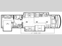 Floorplan - 2008 Newmar Grand Star GSCA 3752