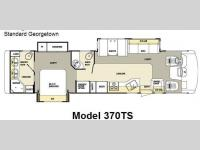 Floorplan - 2007 Forest River RV Georgetown 370TS