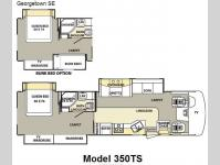 Floorplan - 2008 Forest River RV Georgetown SE 350TS