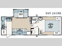 Floorplan - 2008 Forest River RV Surveyor SVF 241RK