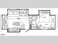 Floorplan - 2008 DRV Luxury Suites Select Suites 31 RL3