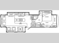 Floorplan - 2008 DRV Luxury Suites Select Suites 36 RS3